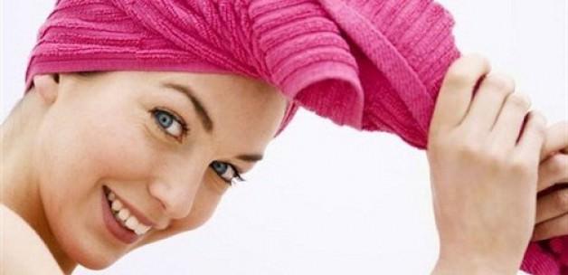 kadın saç yıkama